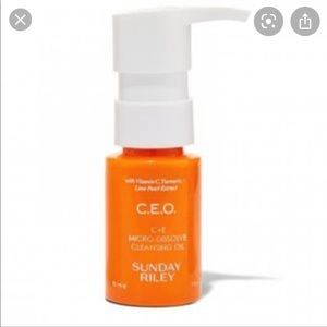 Sunday Riley CEO C+E Cleansing Oil